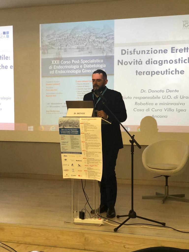 XII congresso post specialistico di endocrinologia e diabetologia a Salerno