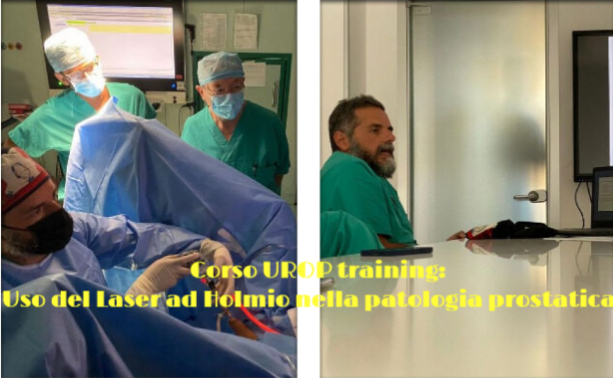 Urop training: corso per l'uso del Laser ad Holmio nella patologia prostatica